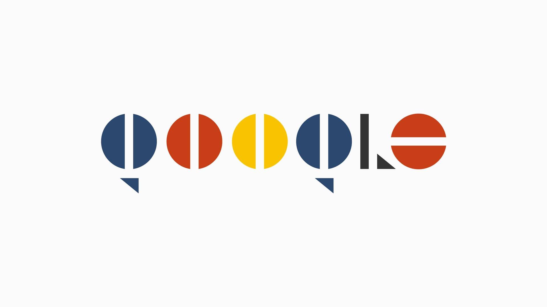 Les logos d'aujourd'hui, relookés pour les 100 ans du Bauhaus