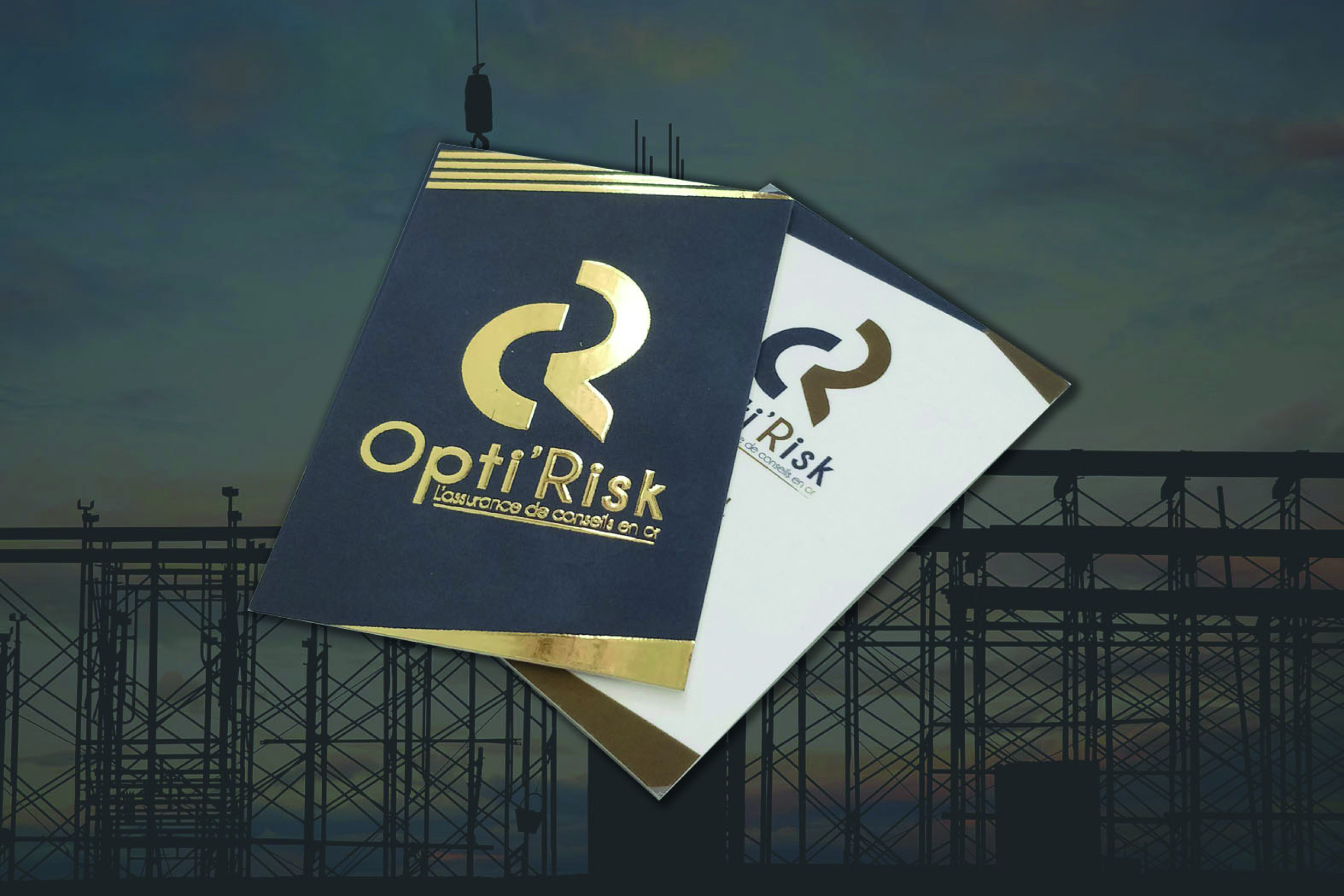 Opti'Risk – Finition feuille d'or